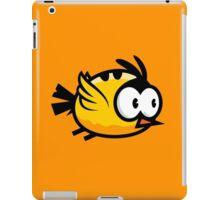 Cute Yellow Bird Flying iPad Case/Skin