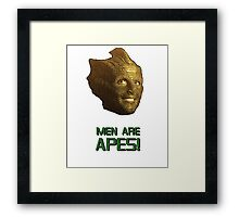 Doctor Who's Madame Vastra - Men are Apes! Framed Print