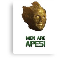 Doctor Who's Madame Vastra - Men are Apes! Canvas Print