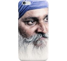 Portrait of a Sikh iPhone Case/Skin