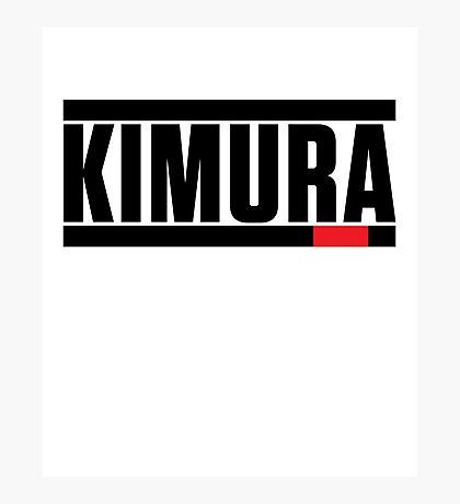 Kimura Brazilian Jiu-Jitsu (BJJ) Photographic Print
