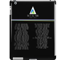 Alt-J: This Is All Yours TOUR #2 iPad Case/Skin