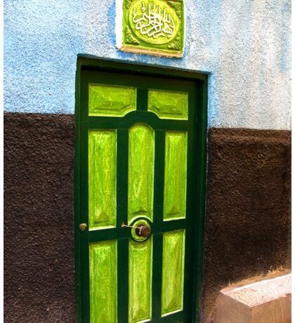 The Green Door - Nubian Village Sticker