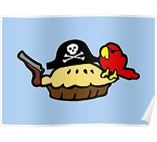 Pie Pirate Poster