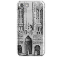 Lincoln Cathedral Pen and Ink iPhone Case/Skin