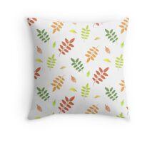 Autumn Christmas Pattern Throw Pillow