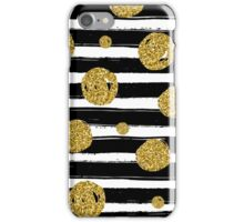 Christmas Gold Pattern iPhone Case/Skin