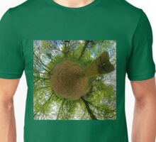 Butterfly Sculpture in Prehen Woods, Derry Unisex T-Shirt