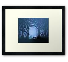 Spooky dreams. Framed Print