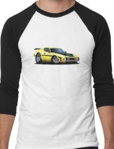 Cartoon muscle car Men's Baseball ¾ T-Shirt