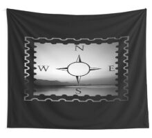 b & w early morning orientation Wall Tapestry