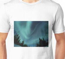 Alien Aurora Borealis Unisex T-Shirt