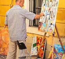 Szentendre Artist by Robert Kelch, M.D.