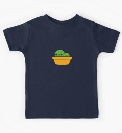 Cute cactus in yellow pot Kids Tee