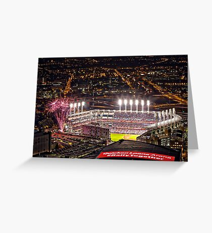 World Series Game 7 Cubs vs Indians Greeting Card