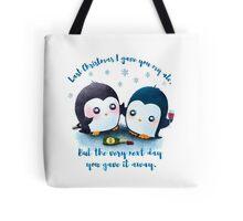 penguins /Agat/ Tote Bag