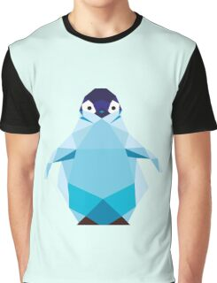 Geometric Penguin Graphic T-Shirt