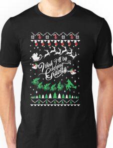Wicked Ugly Christmas Sweatshirt Unisex T-Shirt