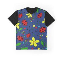 Ladybugs - blue Graphic T-Shirt
