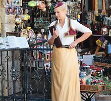 Mostar Hostess by Robert Kelch, M.D.
