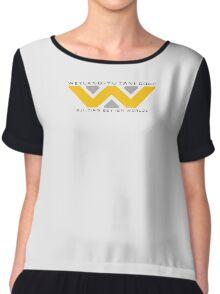 Weyland-Yutani (black font) Chiffon Top