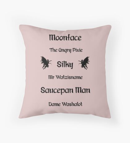 Folk of the Faraway Tree Throw Pillow