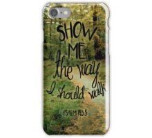 Psalm 143:5 iPhone Case/Skin