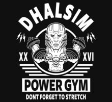 Street Fighter, Dhalsim Power Gym One Piece - Short Sleeve