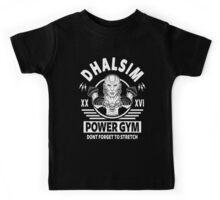 Street Fighter, Dhalsim Power Gym Kids Tee