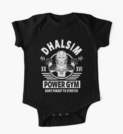 Street Fighter, Dhalsim Power Gym One Piece - Short Sleeve