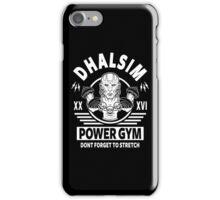 Street Fighter, Dhalsim Power Gym iPhone Case/Skin