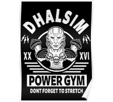 Street Fighter, Dhalsim Power Gym Poster