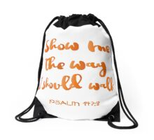 Psalm 143:8 Drawstring Bag