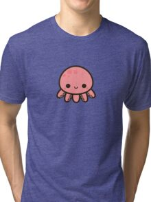 Cute octopus Tri-blend T-Shirt