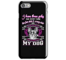 We love French bulldog iPhone Case/Skin