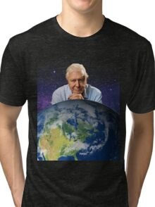 David Attenborough - Living Legend Tri-blend T-Shirt