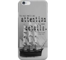 Sherlock Holmes Attention iPhone Case/Skin