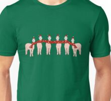 Happy Alpaca Christmas! Unisex T-Shirt