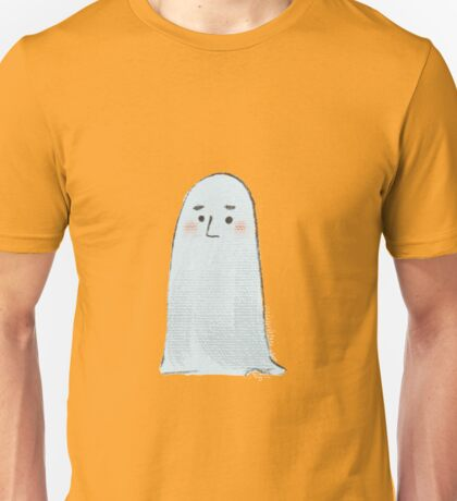 Halloween  Ghost white illustrated Unisex T-Shirt