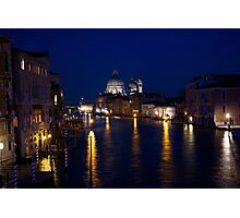 venetian night Photographic Print