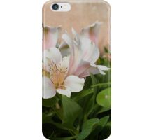 Peachy Lilies iPhone Case/Skin