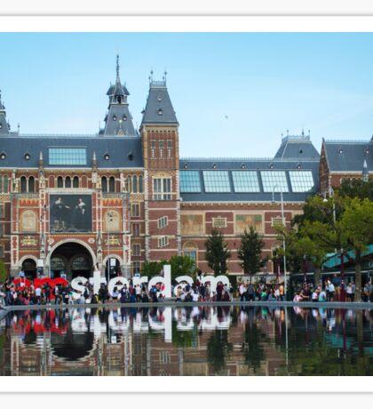 Amsterdam rijksmuseum Sticker