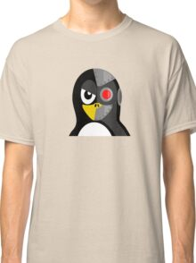 Cyborg Penguin Artwork for Blackhats and Geniuses Classic T-Shirt