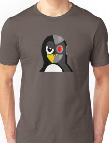 Cyborg Penguin Artwork for Blackhats and Geniuses Unisex T-Shirt