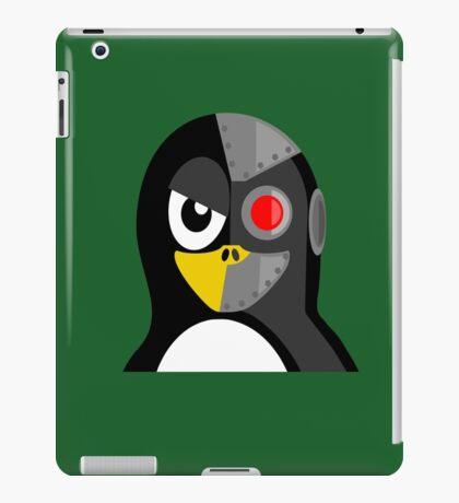 Cyborg Penguin Artwork for Blackhats and Geniuses iPad Case/Skin