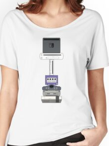 Consoles (PAL version) Women's Relaxed Fit T-Shirt