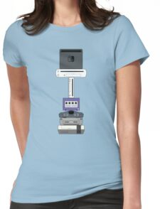 Consoles (PAL version) Womens Fitted T-Shirt