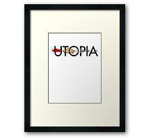Utopia - Utopia title Framed Print