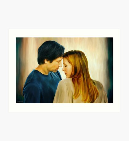 I Want To Believe Painting Art Print