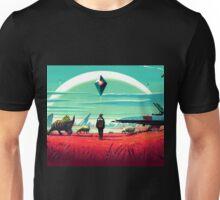 no mans sky kuning 2 Unisex T-Shirt